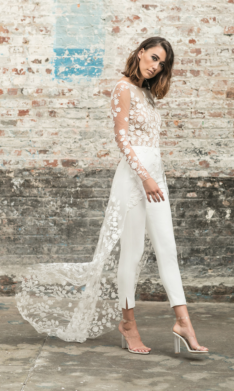 cc6adc19187 How To Incorporate A Wedding Jumpsuit Into Your Bridal Look ...
