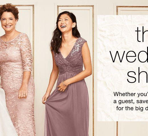 TJ Maxx wedding