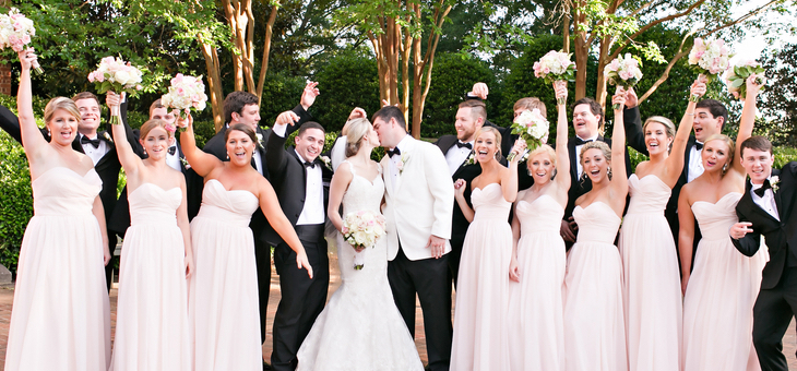 College Sweethearts Get Married in a Garden-Style Wedding - BridalPulse