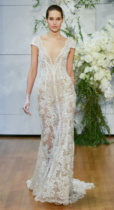 The Sexiest Sheer Wedding Dresses That Are Still Appropriate
