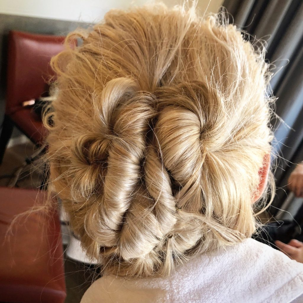 perfect wedding guest hair