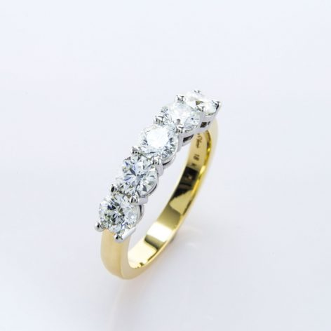 Best Wedding Bands for 3 Stone Engagement Rings Best Wedding Bands for 3 Stone Engagement Rings