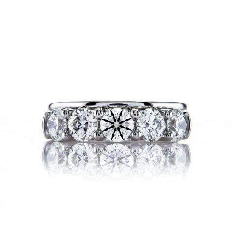 Best Wedding Bands for 3 Stone Engagement Rings