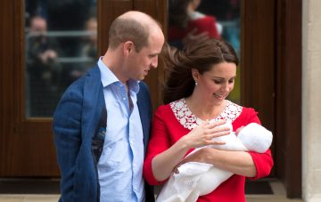 royal baby at the royal wedding