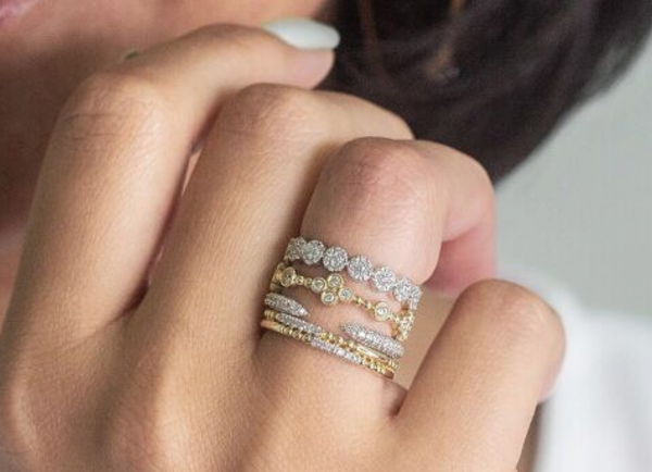 ring layering mixed metals