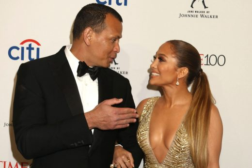 Jennifer Lopez and Alex Rodriguez eganged