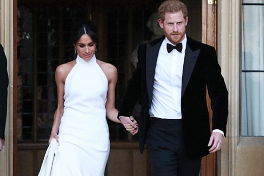 replica of meghan markle's wedding dress