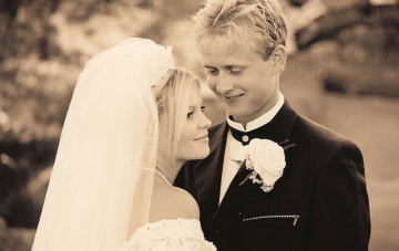 candace cameron bure's wedding anniversary