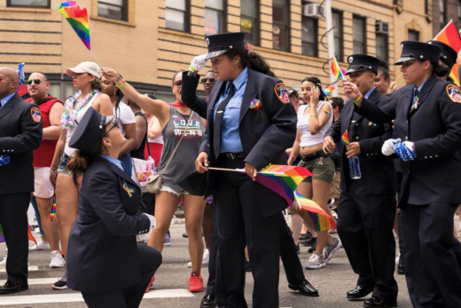 pride march engagement