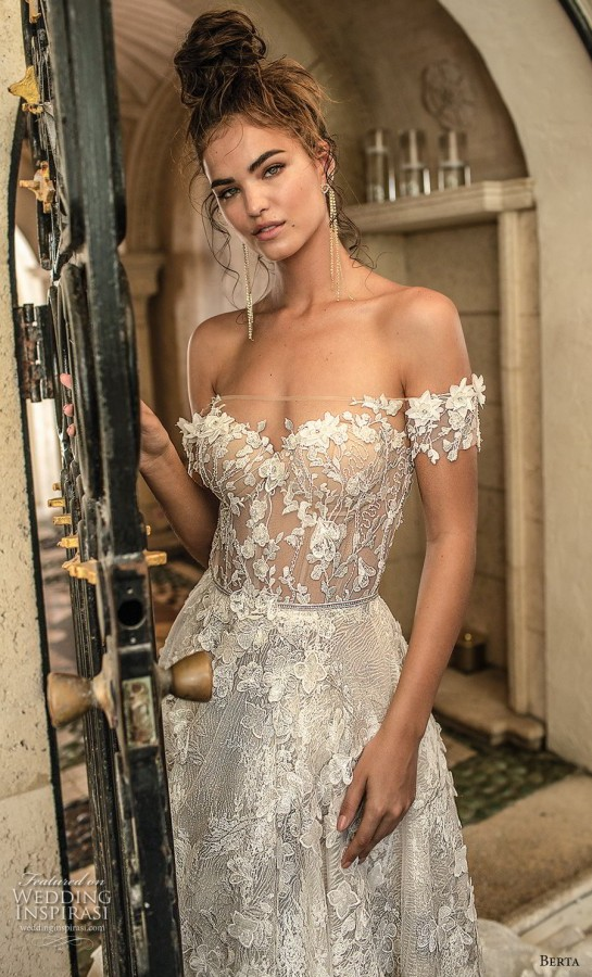 2a3cc34095f0b Berta Spring 2019 Wedding Dresses - BridalPulse