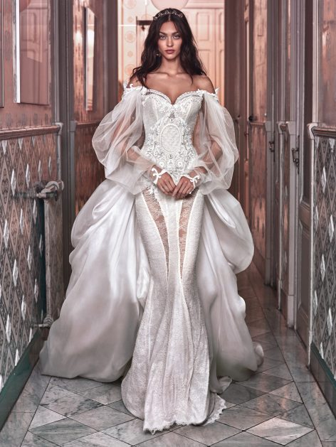 Beyonce's vow renewal dress