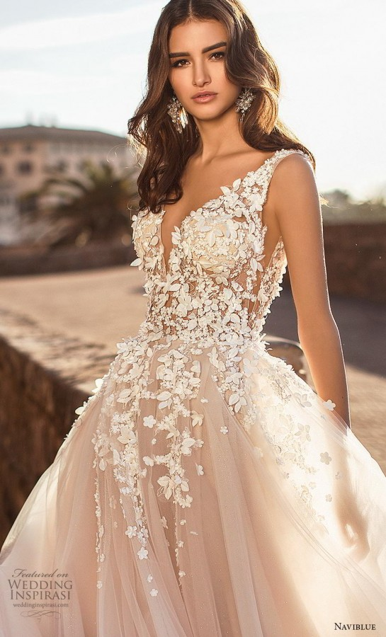 54cd9ece46f Naviblue 2019 Wedding Dresses - BridalPulse