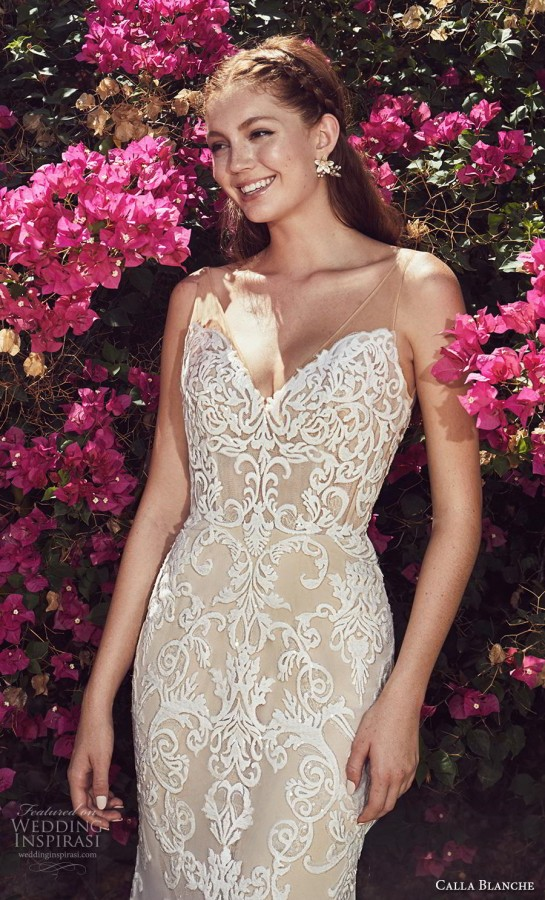 e3c5bcbc627e L'amour by Calla Blanche Spring 2019 Wedding Dresses - BridalPulse